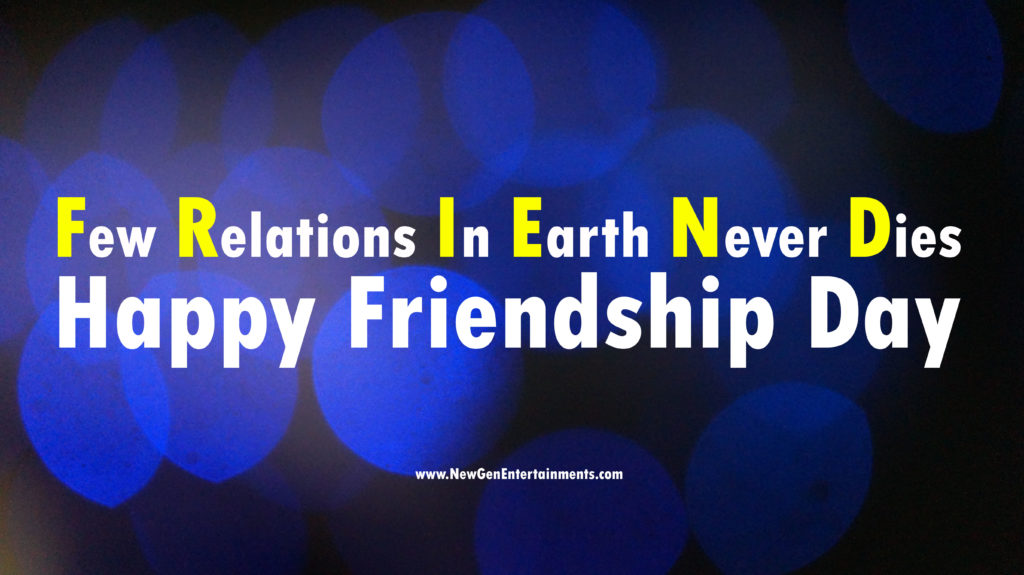 HAPPY FRIENDSHIP DAY 1