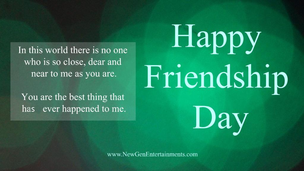 HAPPY FRIENDSHIP DAY 2