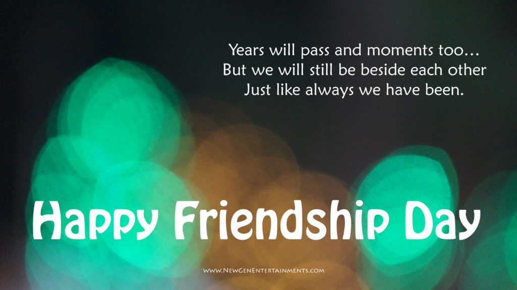 HAPPY FRIENDSHIP DAY 4