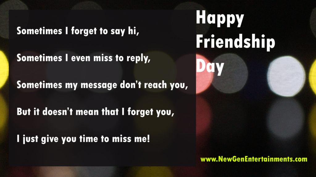 HAPPY FRIENDSHIP DAY 5