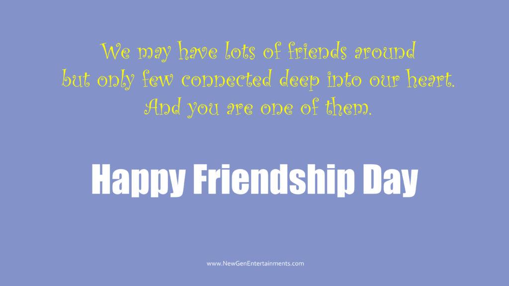 HAPPY FRIENDSHIP DAY 7
