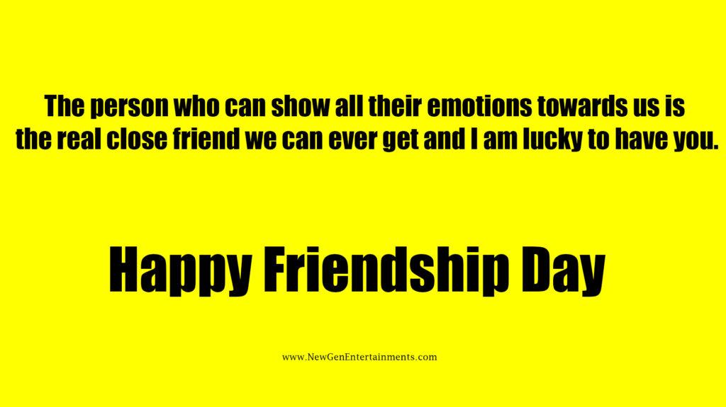 HAPPY FRIENDSHIP DAY 8